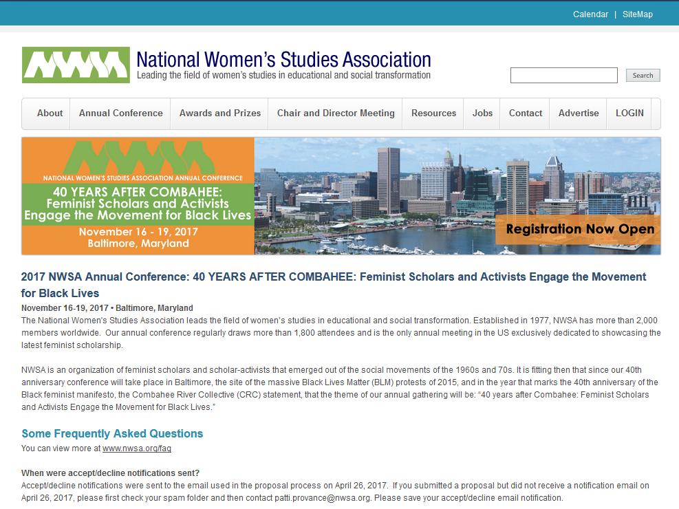 NWSA Graduate Scholarship